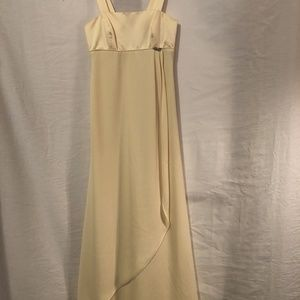 Alfred Angelo XS 0 Dress Prom Yellow